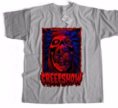 Creep Show Inspired Horror Sci Fi Classic Retro Film Movie T Shirt