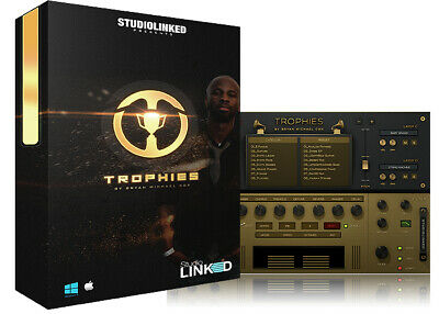 STUDIO LINKED Trophies by Bryan Michael Cox (VST/AU/AAX) License