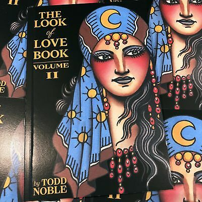 Todd Noble - The Look of Love Book Vol2 - American Traditional Tattoo Flash Book