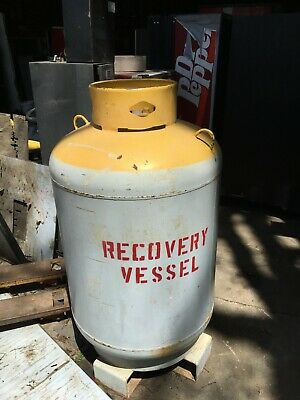 1000 lb freon recovery tank