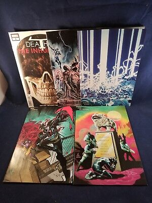 Death Of Inhumans 1-5 Young Guns Variant Cover Set Donny Cates Marvel Cheapest!!