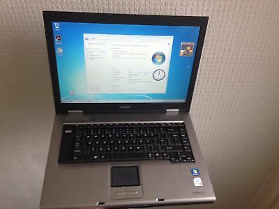 "Pc Portatile Toshiba A120 Core2 Duo @1,7 Ghz 4 Gb Ram 250Hd 15,4"" Wide Wifi Win7"