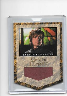 Game of Thrones Season 2 Tyrion Lannister #RL2 Banner Material Relic /325