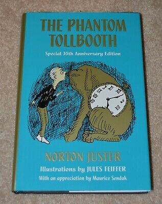 Norton Juster Jules Feiffer DUAL SIGNED AUTOGRAPHED The Phantom Tollbooth HC NEW