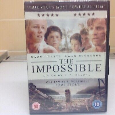 The Impossible  (Dvd2013) New & Sealed