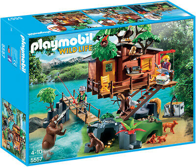 playmobil© Mann Figur aus 4057 Adventure Lodge Baumhaus Playmobil