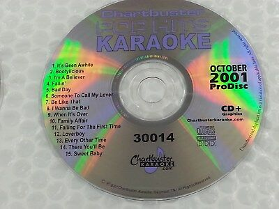 Mr Entertainer Karaoke Chart Hits Vol 134 18 Tracks Musical Instruments & Gear Oct 2015 Cdg Cd+g Mrh134 Selected Material
