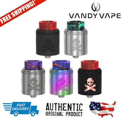 AUTHENTIC VANDY VAPE Bonza Mech Kit Sleeve & Tip Pack + Stickers