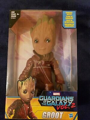 """Marvel Guardians of the Galaxy Vol 2 Baby Groot Ravager Figure 10"""" New in box!"""