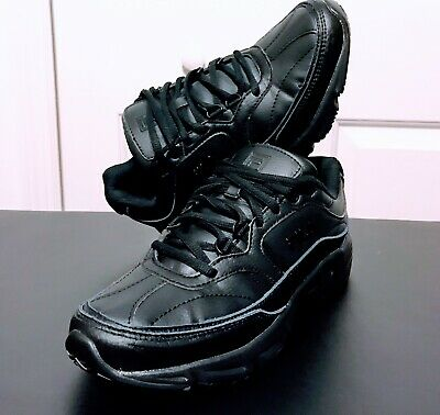 5b4d0c266ddc Work Safety Shoes Fila Memory Workshift Size 8.5 Black Leather Synthetic New