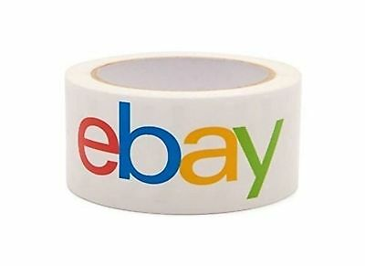 Official eBay Branded BOPP Strong Packaging Tape - Shipping Supplies 1-3 Rolls