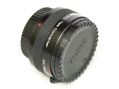 Vivitar MC 2x PK-A/R-PK Tele Converter Lens for PENTAX SLR / Digital DSLR Camera