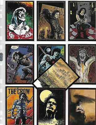 The Crow City of Angels - Movie Legend - 10 Card Chase SET - 1996 Brandon Lee NM
