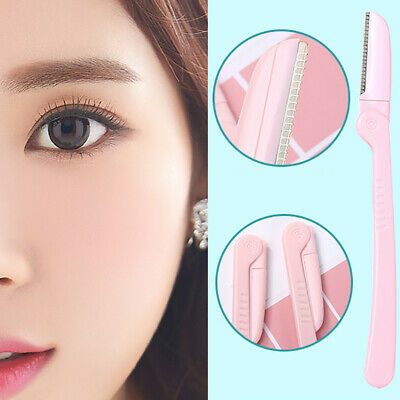 Folding Pro Brow Eyebrow Razor Trimmer Face Hair Removal Safety Shaper Shaver US