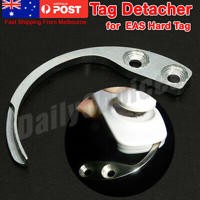 AU Mini Metal Detacher Hook Key Detacher Security Tag Remover For EAS Hard Tag