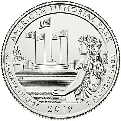 2019 American Memorial Park (Northern Mariana Islands) P,d & S Set **in Stock**