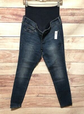 db7a9002ecd Old Navy Maternity Premium Full Panel Rockstar Jeans Size 6 New With Tags  LBB76