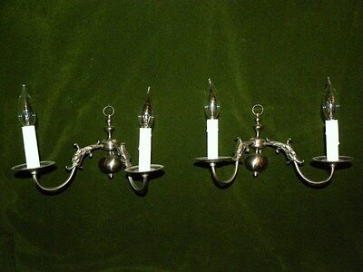 Unusual Pair of French Sconces With Griffins Or Gargolyles