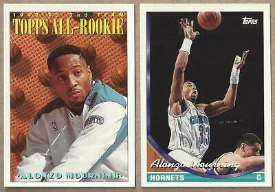 Alonzo Mourning 50 Cards Lot Hornets Heat Usa Team Rookie