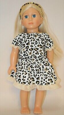 American Girl Dolls  Our Generation 18 Doll Clothes Leopard Print 2 piece Set