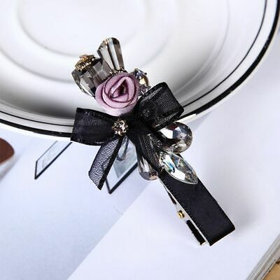 Lace Bow Flower Hair Accessories Hair Clip Hairpin Duckbill Clip Headwear