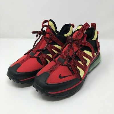 019e65ad76f4d MEN'S NIKE AIR Max 270 Bowfin (Black/Red/Yellow) Sneakers Size 9 ...