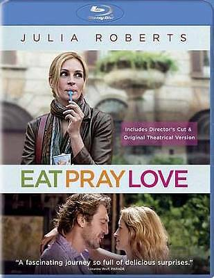 Eat Pray Love (Theatrical & Extended Cut) [Blu-ray] ~ New & Factory Sealed!