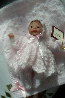 ASHTON DRAKE  HEAVENLY HANDFUL of TENDERNESS...  With Hand Knitted Layette