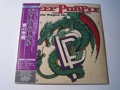 "DEEP PURPLE ""The Battle Rages On""  Japan mini LP CD"