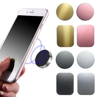 Mount Magnet Plate Disc Magnetic Metal Car Sticker Holder For Cell Phone