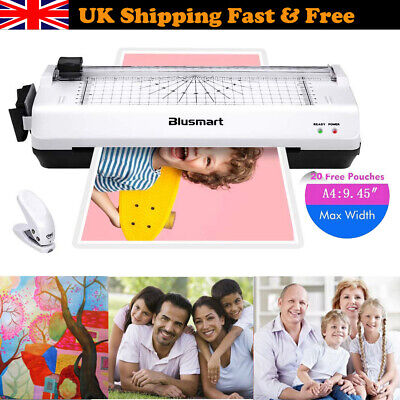 Home & Office 4 in1 A4 Laminator Machine Hot Cold Roller Laminating with Trimmer
