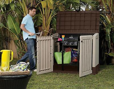 Keter Outdoor Garden Storage Store It Out Midi Plastic Lockable Shed 845 Litre
