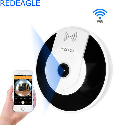 1080P HD Mini 360 Degree Panoramic Wireless Wifi IP Fisheye Camera Two Way Audio