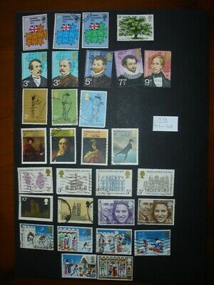 GB Commemorative Stamps 1973 Complete Year - Used