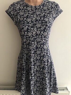 Girls Marks And Spencer Navy Dress Bnwt Size 12-13