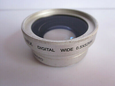 Camex 0.5X Digital Wide Angle Auxiliary Lens w Macro 52mm Screw mt Nikon Canon