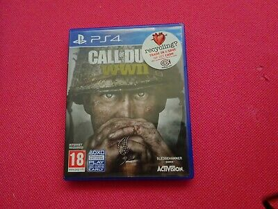 Call Of Duty World War II 2 WWII PS4