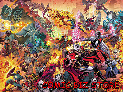 War Of The Realms #2 (Of 6) (2019) 1St Printing Adam & Wilson Main Cover ($4.99)
