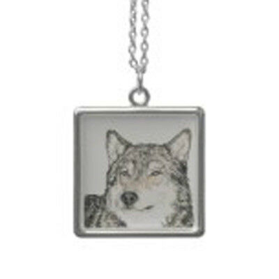 ALPHA WOLF NECKLACE for MALE or FEMALE - ART WOLVES JEWELRY