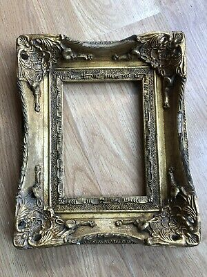 Antique 19th Century Picture Frame Water Gilded