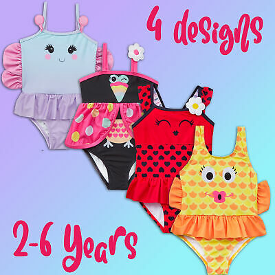 Girls Novelty Swimsuit One Piece Bathing Suit Swimming Costume Swimwear Cute
