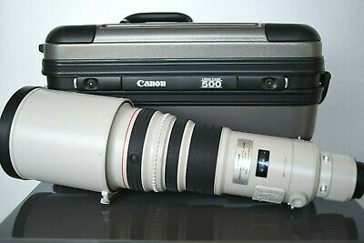 Canon 500mm F:4 L IS USM in Very Good Condition With Lens Case