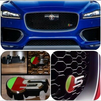 Jaguar F-PACE, XF, XE after 2015 ;S GRILLE BADGE ACC
