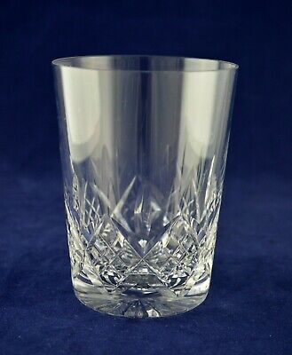 "Stuart Crystal ""GLENGARRY"" Whiskey Glass / Tumbler - 10.3cms (4"") Tall"