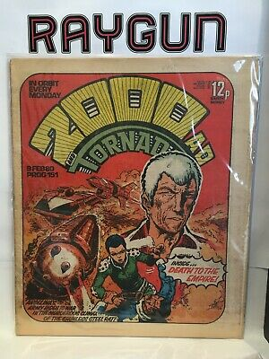2000 AD Prog #151 (9 February 1980) 1st Print UK Comic Magazine