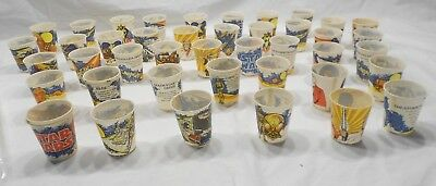 Star Wars Dixie Cups 1980 Lot Of 45