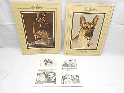 Otto H. Pfeiffer Signed Animal Prints, Lot Of Two