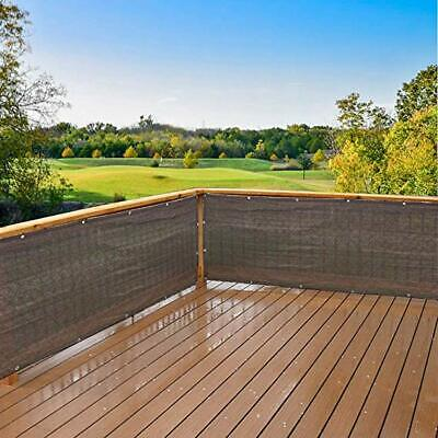 Privacy Screen for Backyard Deck, Patio, Balcony, Fence, Porch Brown