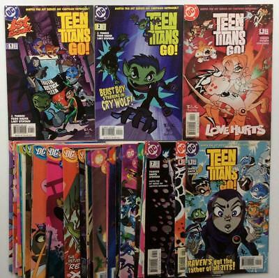 Teen Titans Go #1 to #42 (2 missing) (DC Cartoon Network 2004) 40 x issues