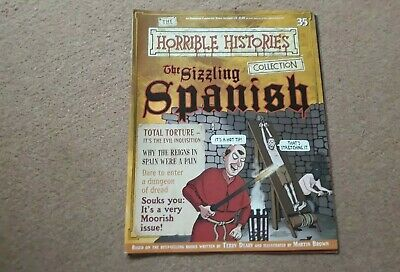Horrible histories magazine collection issue 35 The Sizzling Spanish